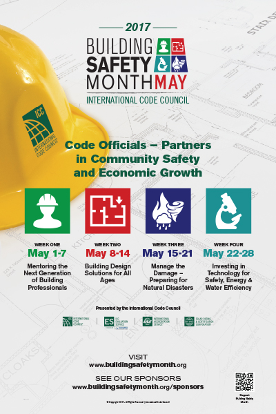National Building Safety Month 2017