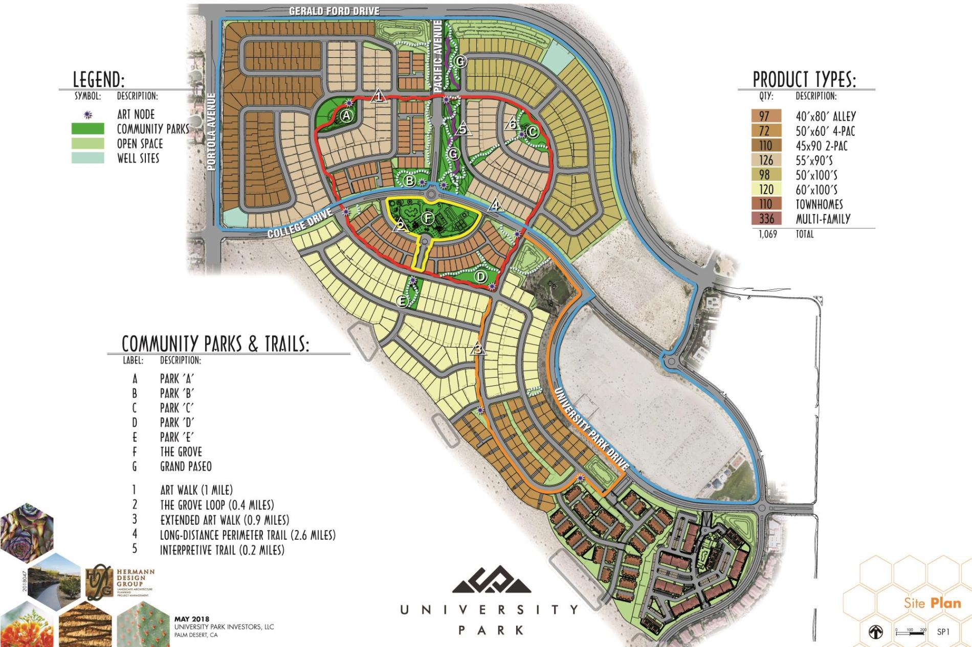Univeristy Park Site Plan