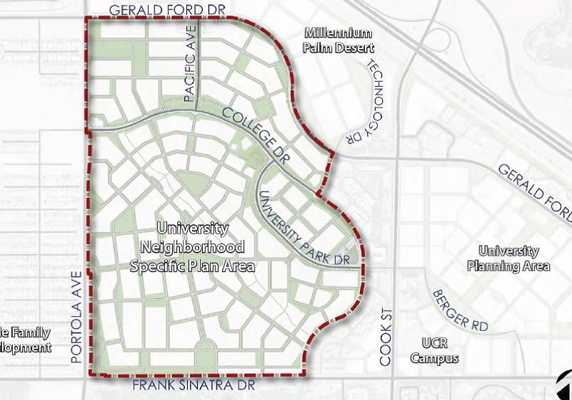 University Neighborhood Specific Plan