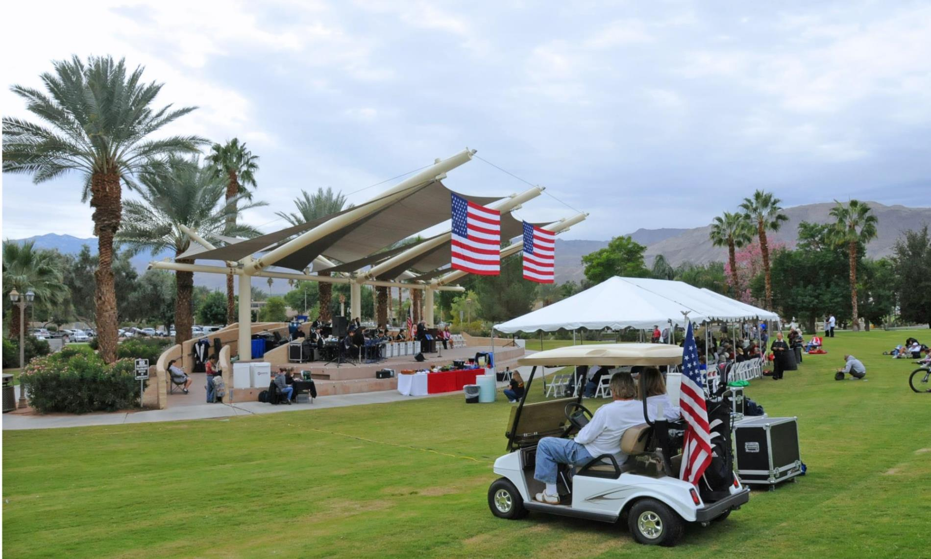 Veterans Day 2011 Golf Cart2