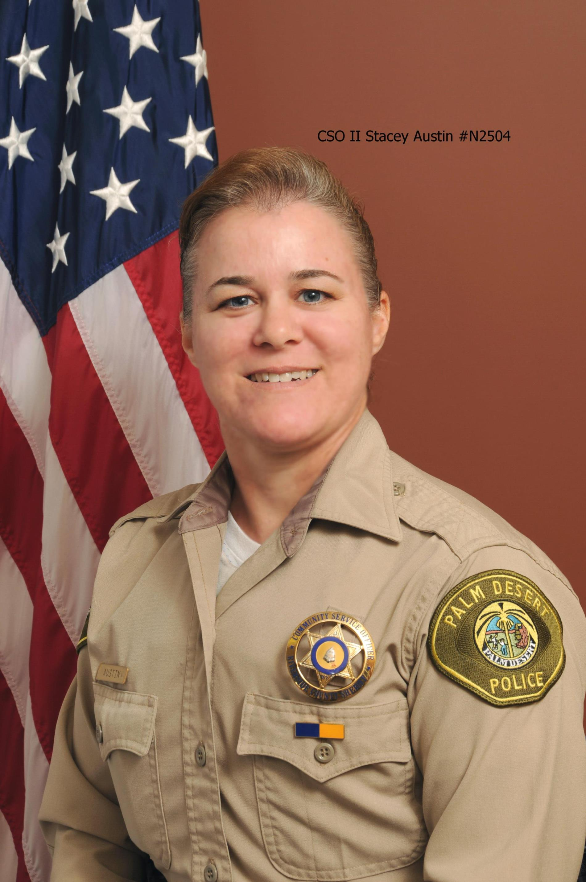 Community Service Officer Stacey Austin