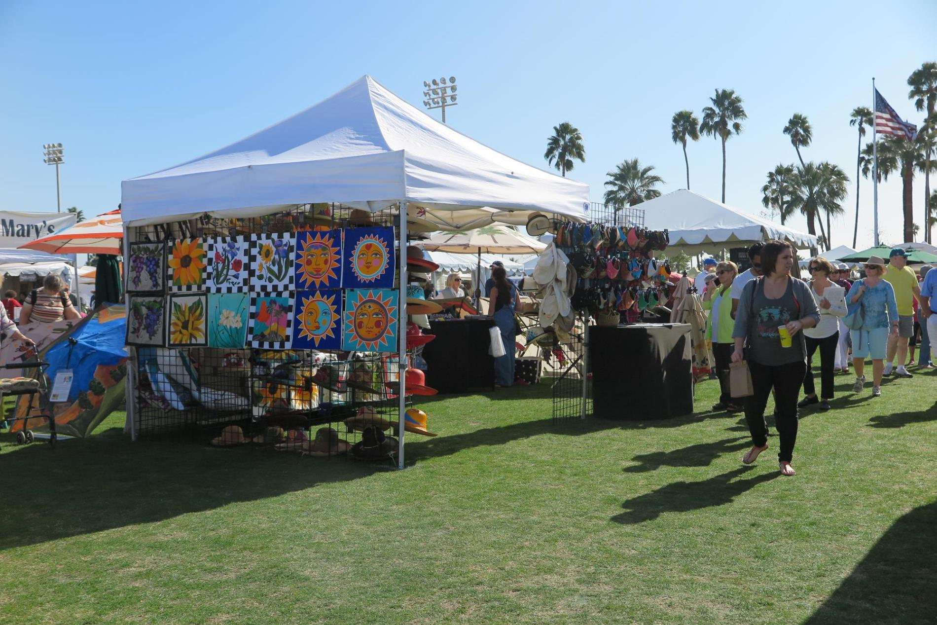 Southwest Arts Festival, Vendor Tent